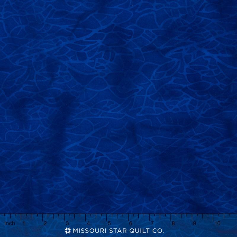 Island Batiks - Blender Navy Yardage