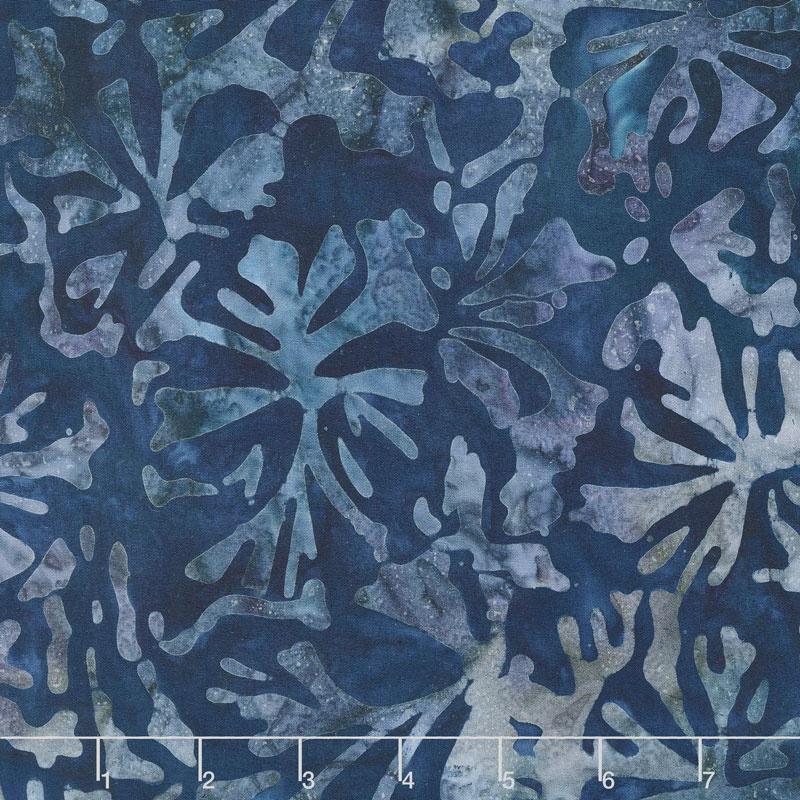 Artisan Batiks - Aqua Spa Coral Astral Yardage