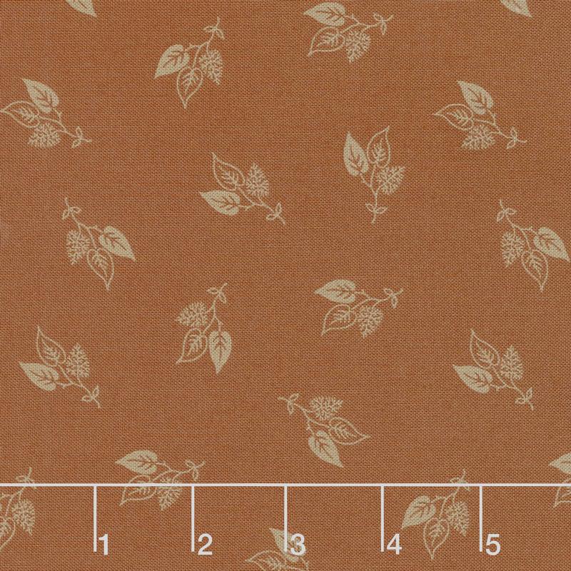 Flower Garden Gatherings - Lilac Branch Marigold Yardage