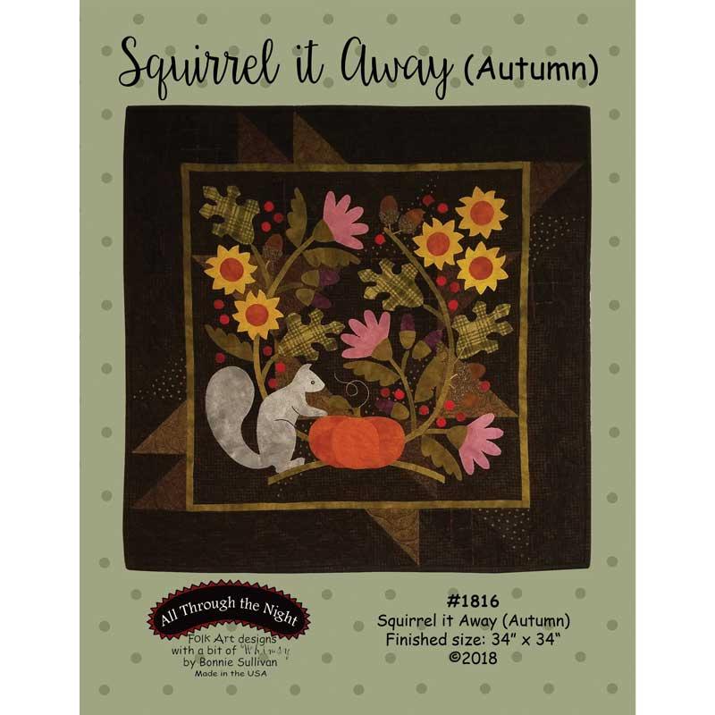Squirrel It Away (Autumn) Pattern
