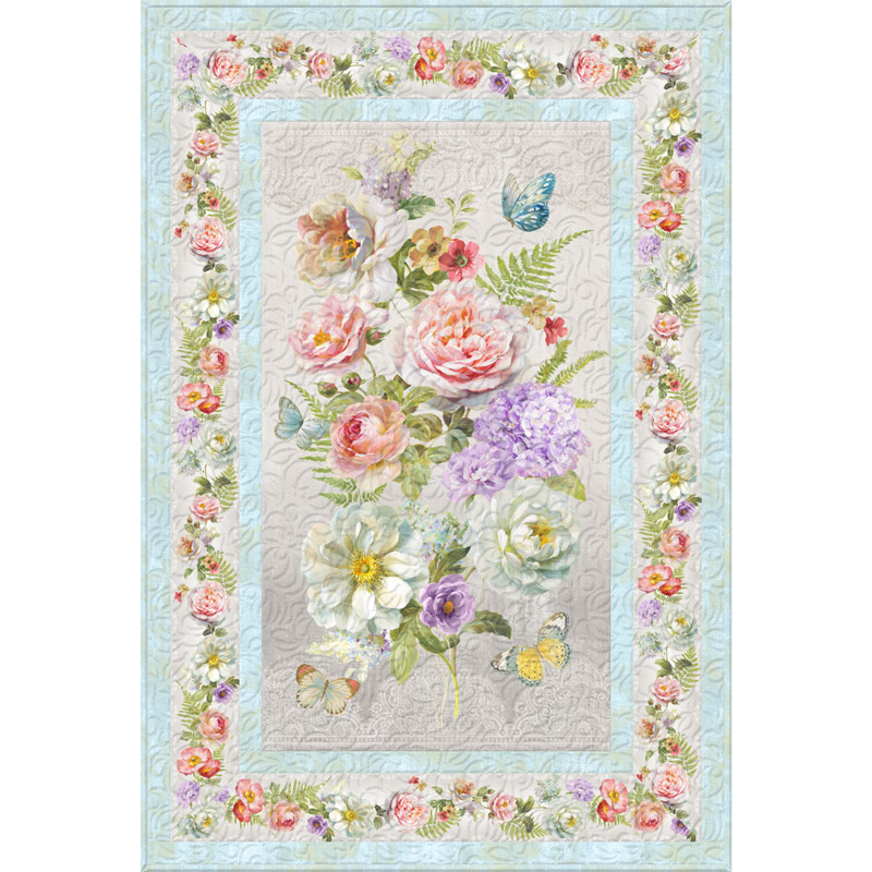 Butterfly Haven Wall Quilt Kit Wilmington Prints