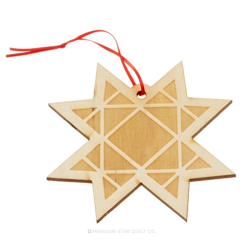 Missouri Star Star Christmas Ornament