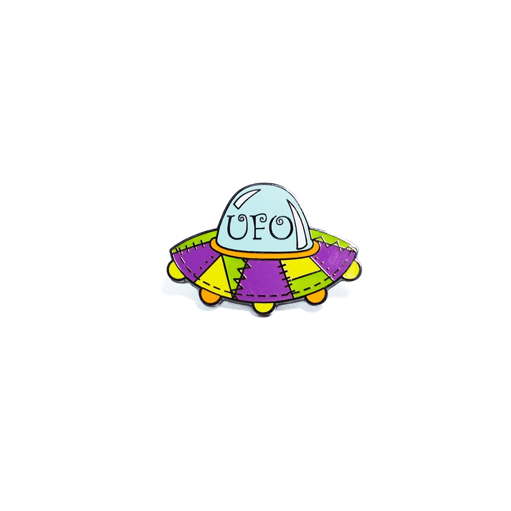 UFO Pin by Pin Peddlers