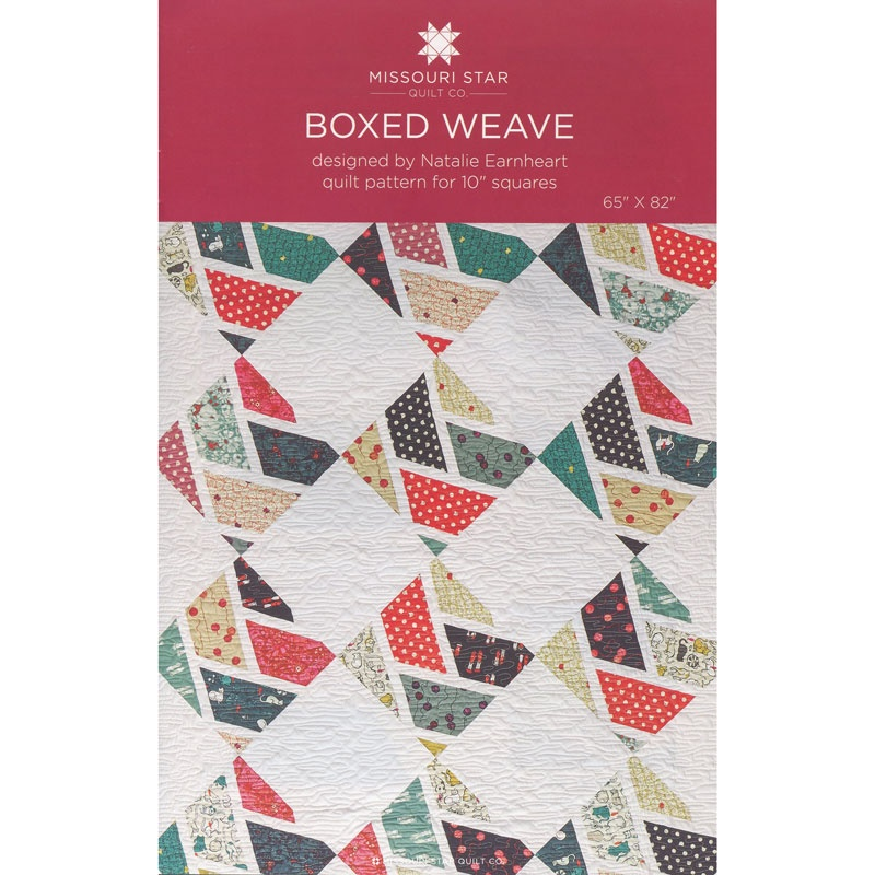 Boxed Weave Quilt Pattern by MSQC - MSQC - MSQC — Missouri Star ... : missouri quilt company patterns - Adamdwight.com