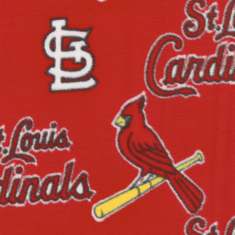 MLB Fleece - St. Louis Cardinals Red Yardage