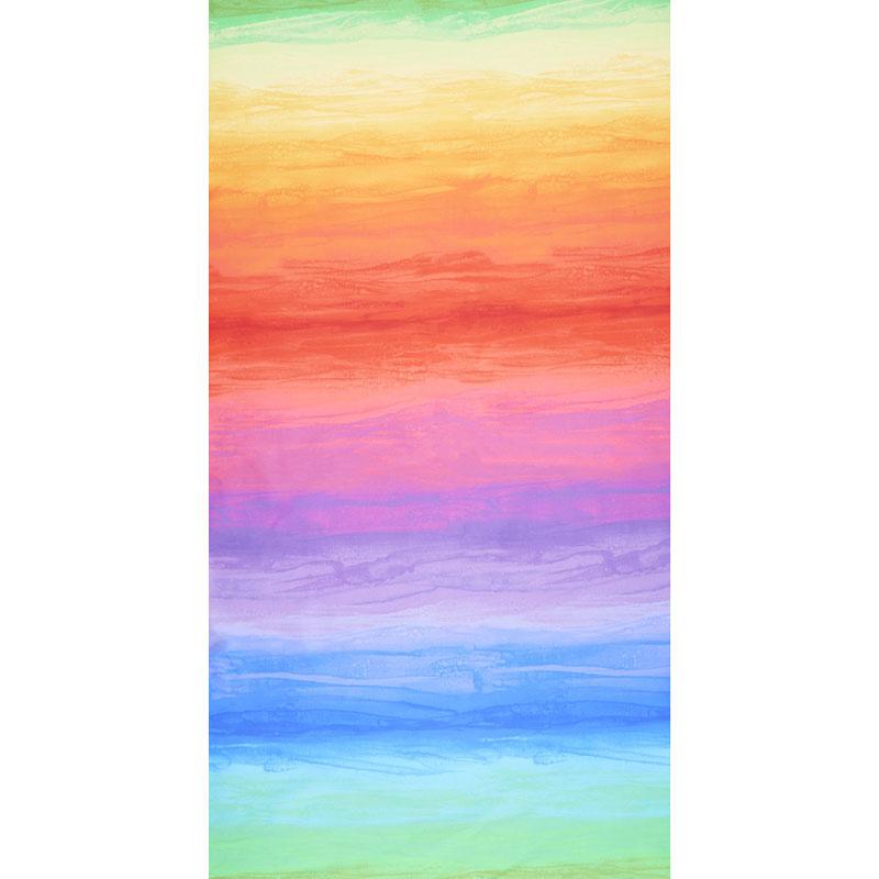 Spirit - Spirit Ombre Bright Stripe Digitally Printed Yardage