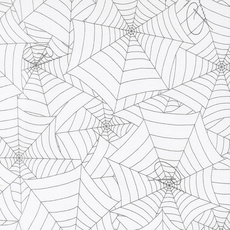 Costume Maker's Ball - Webs Cream Yardage