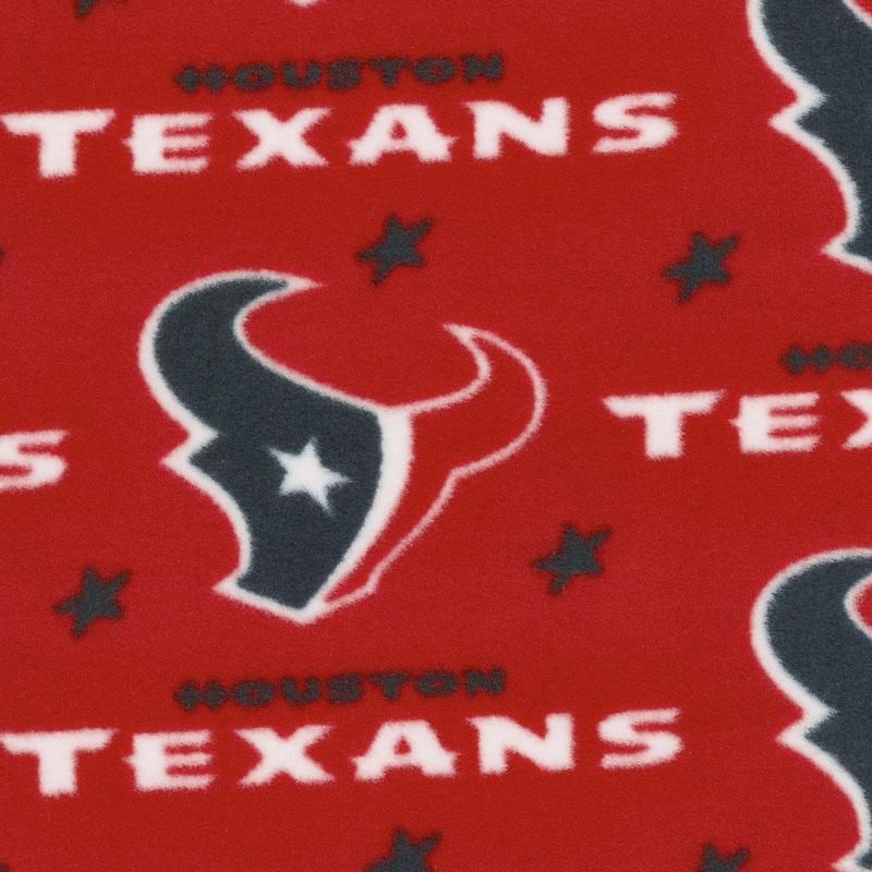 NFL Fleece - Houston Texans Red Yardage