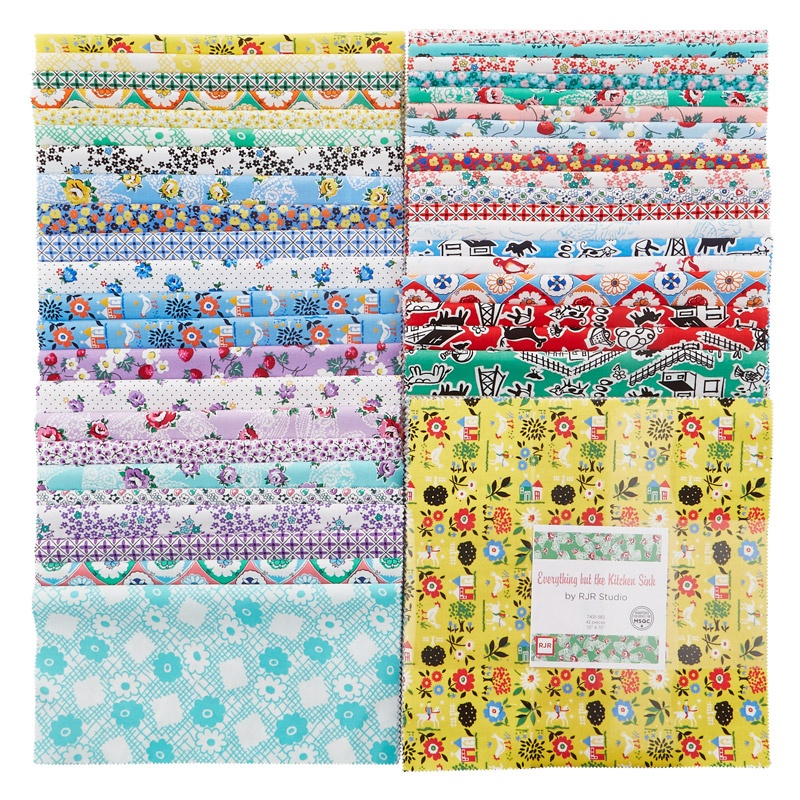 Everything And The Kitchen Sink everything but the kitchen sink 2016 patty cake - rjr fabrics