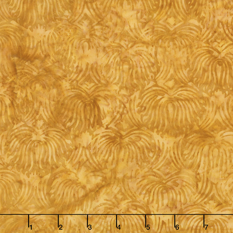 Brandywine Batiks - Fountain Gold Yardage