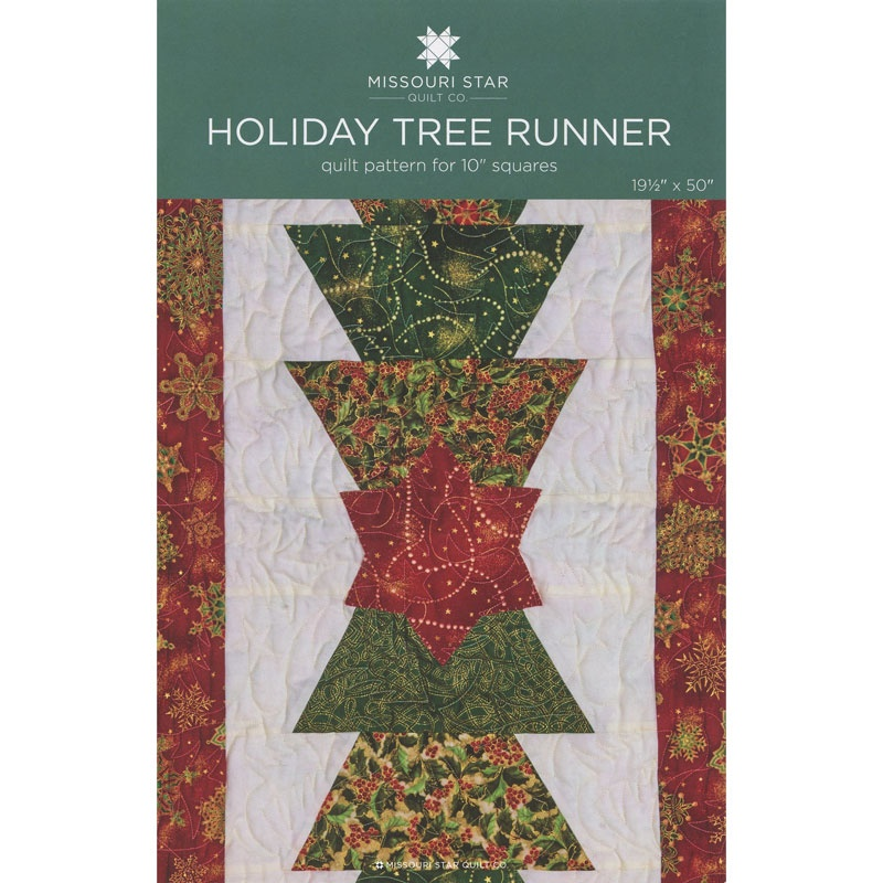 Christmas Table Runner Quilt.Holiday Tree Runner Pattern By Missouri Star