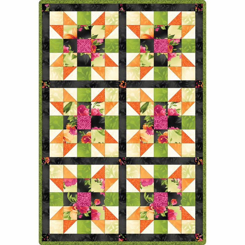 Paradise Sister's Choice Quilt Pod Kit