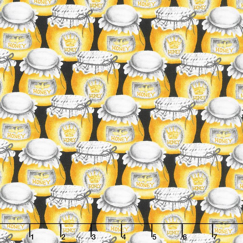 Show Me the Honey - Honey Jars Yellow