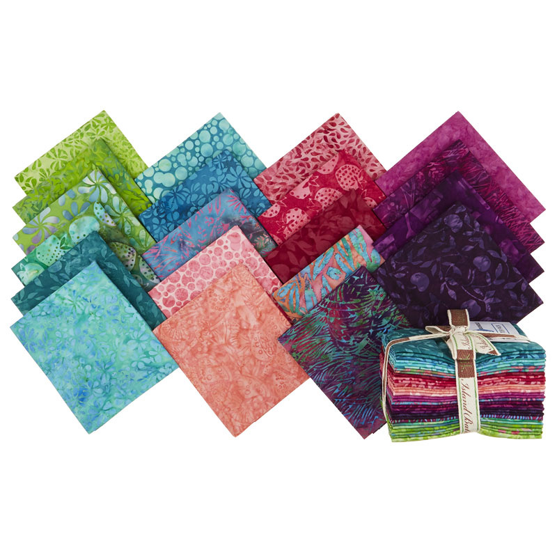 Petal Pushers Batiks Fat Quarter Bundle