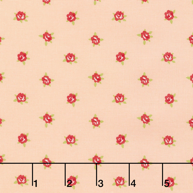 Smitten - Sweetheart Blush Yardage