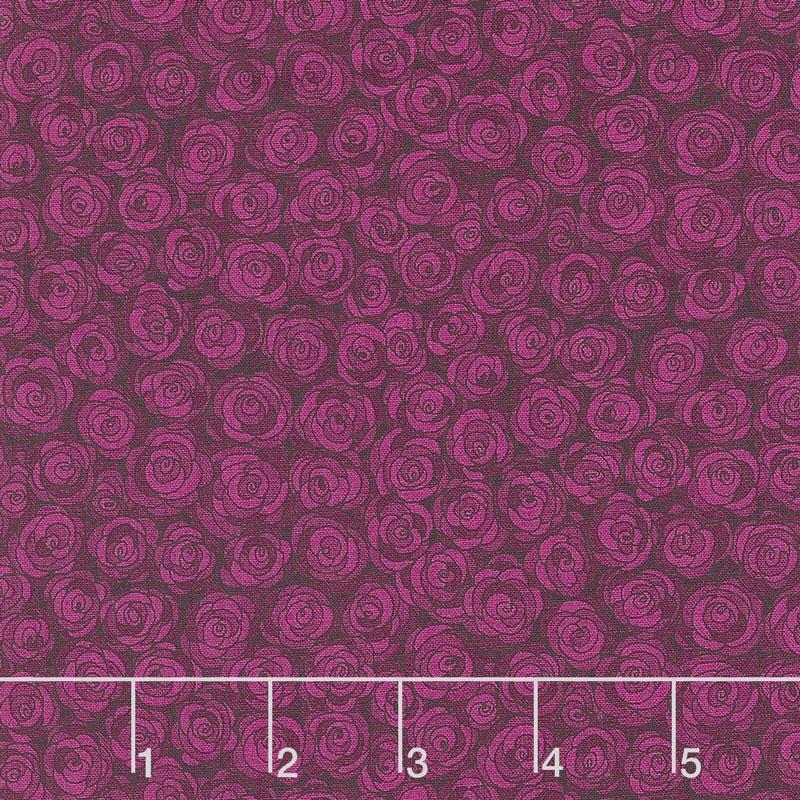 Hopscotch - Rose Petals Jacaranda Yardage