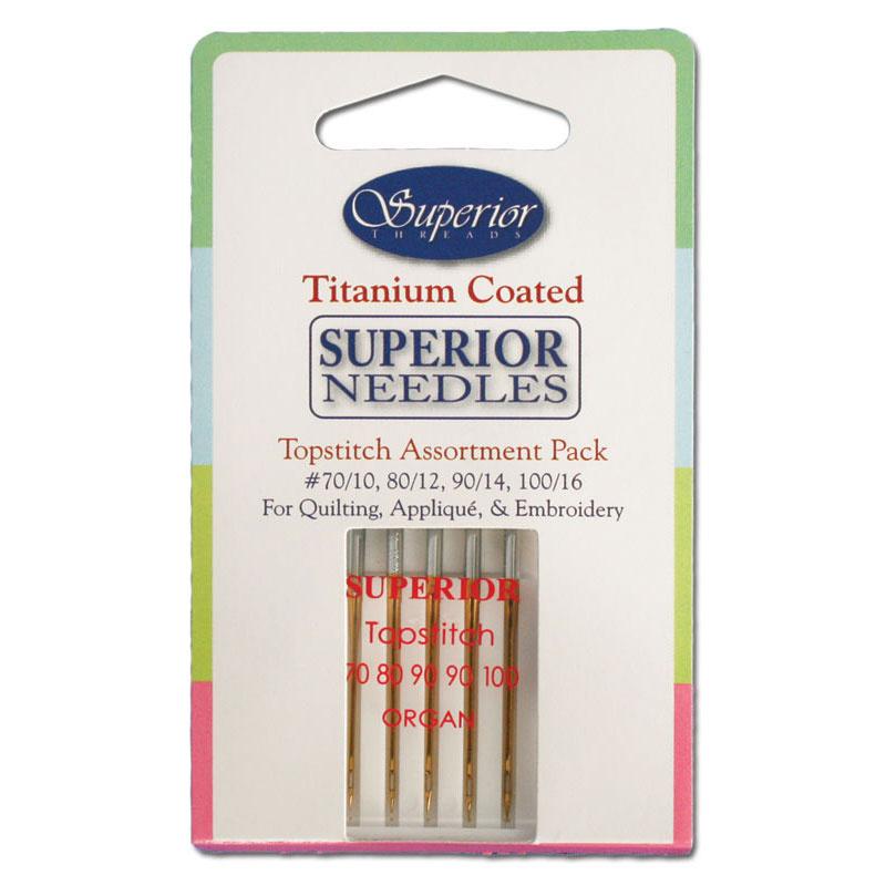 Topstitch Superior Titanium Coated Needle Assortment Superior