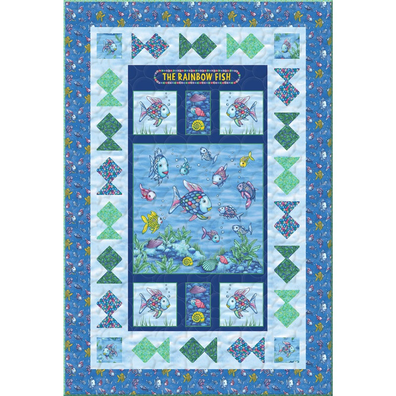 The Rainbow Fish Kit Studio 37 Marcus Fabrics