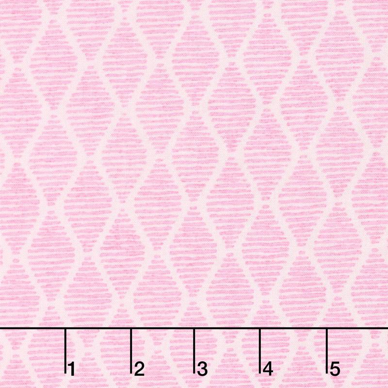 Fruitful Pleasures - Diamonds Pink Yardage