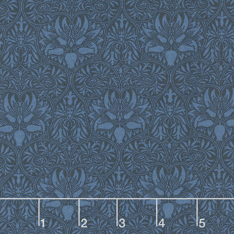 Morris Garden - Crown Imperical 1888 Indigo 108