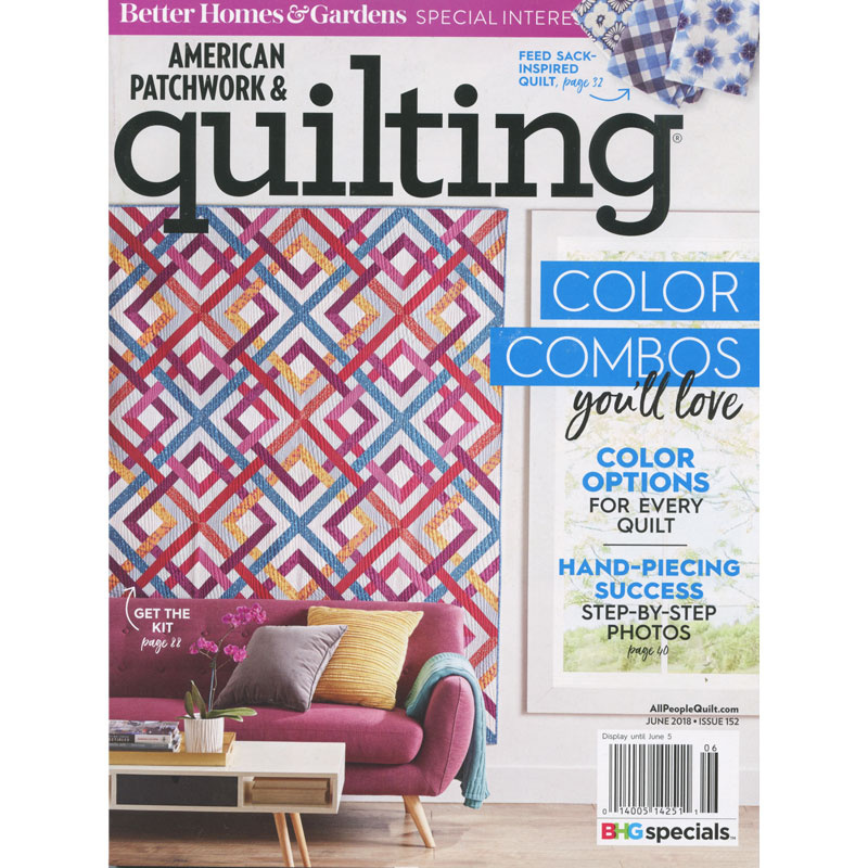American Patchwork & Quilting (June 2018)