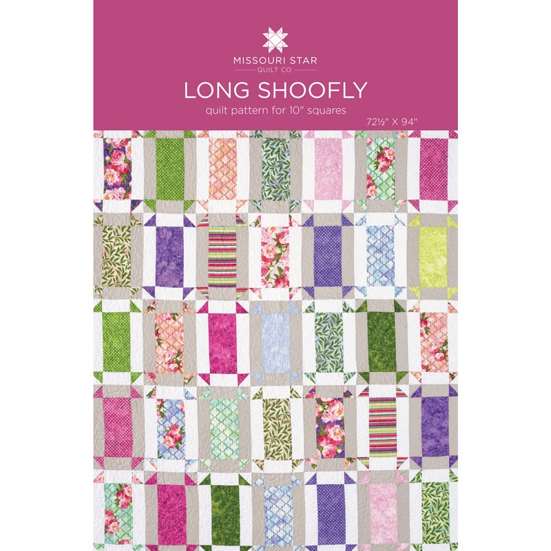 Long Shoofly Quilt Pattern By Msqc Missouri Star Quilt Co