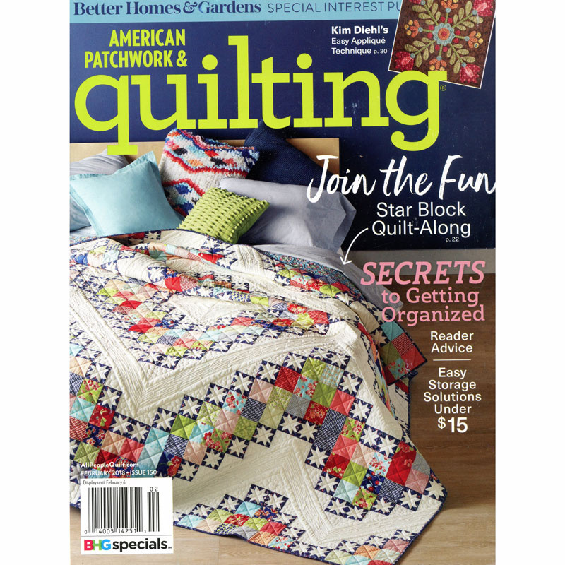 American Patchwork & Quilting (February 2018)