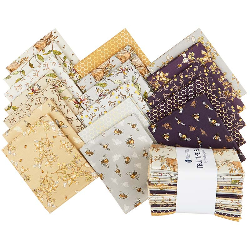 Tell the Bees Fat Quarter Bundle