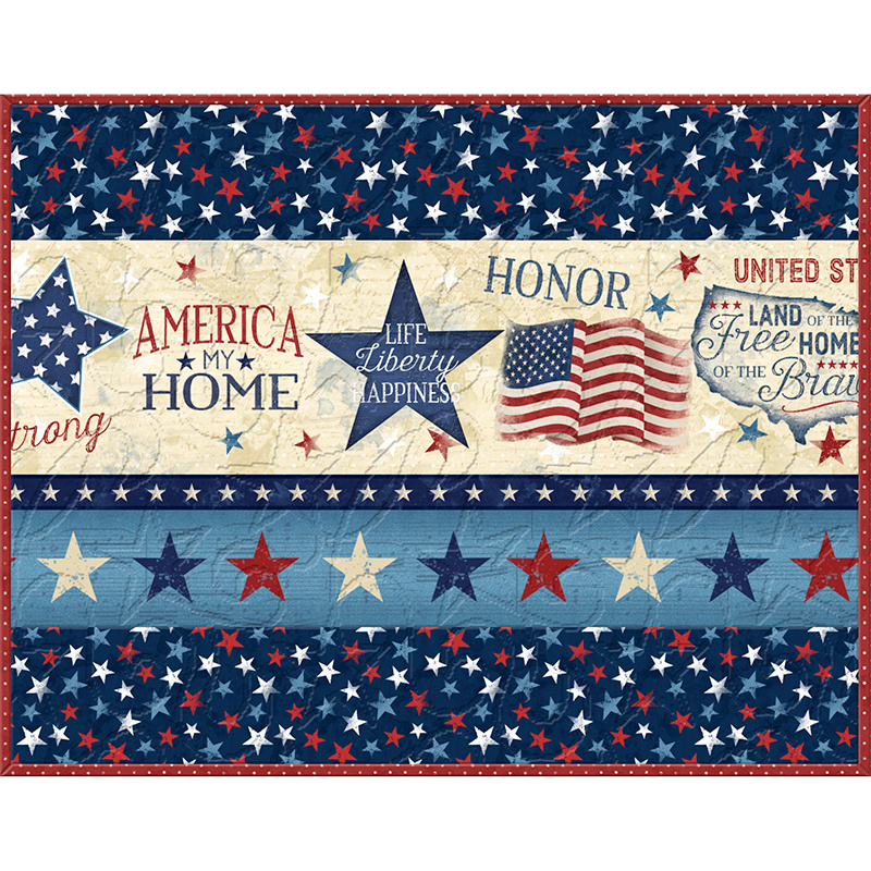 America, My Home Place Mat Kit