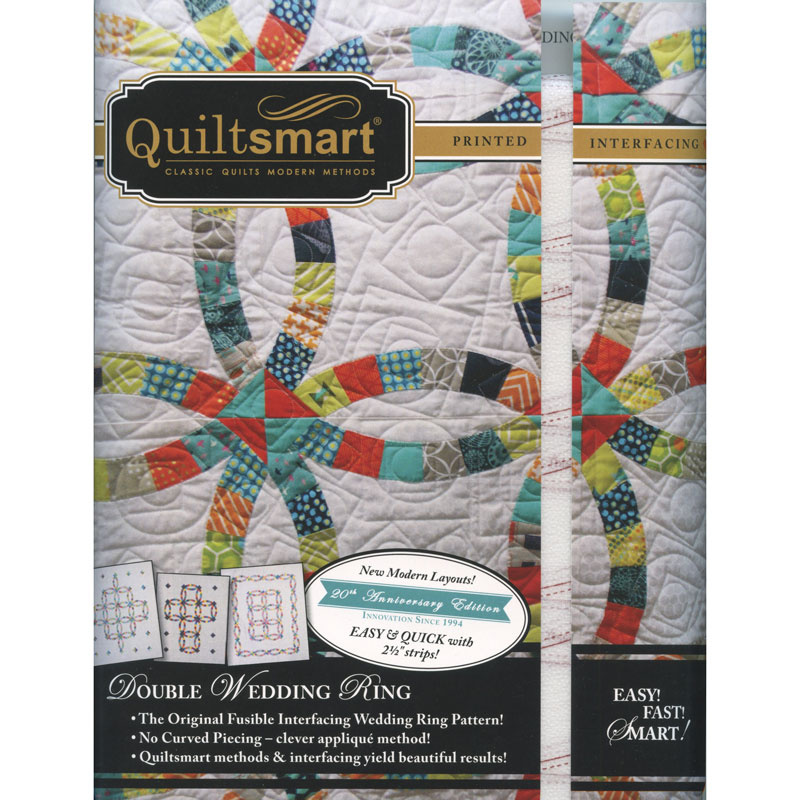 Quiltsmart® Double Wedding Ring Pattern With Interfacing