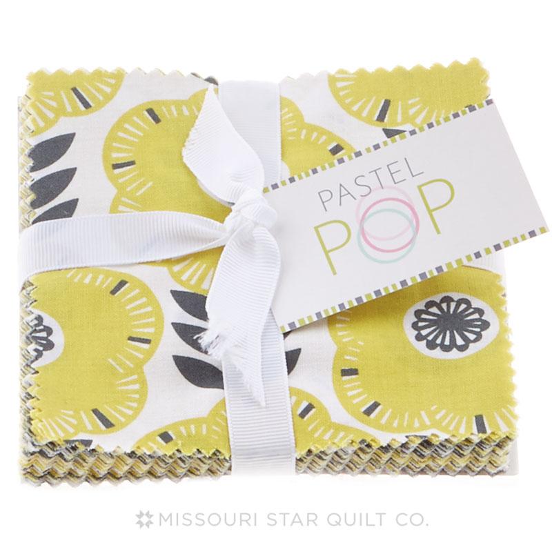 Pastel Pop - Citron Gray Charm Pack