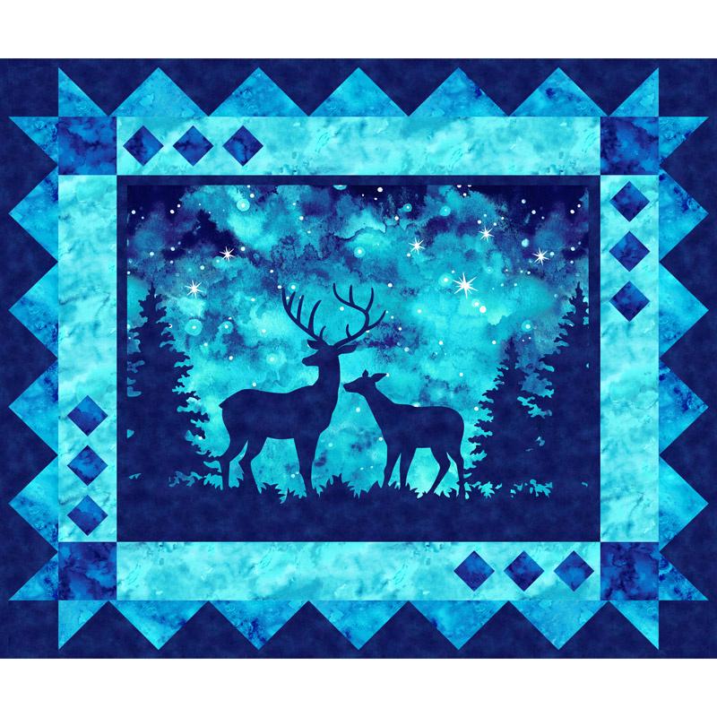 Artisan Spirit - Imagine Novelty Deer Azurite Digitally Printed Panel