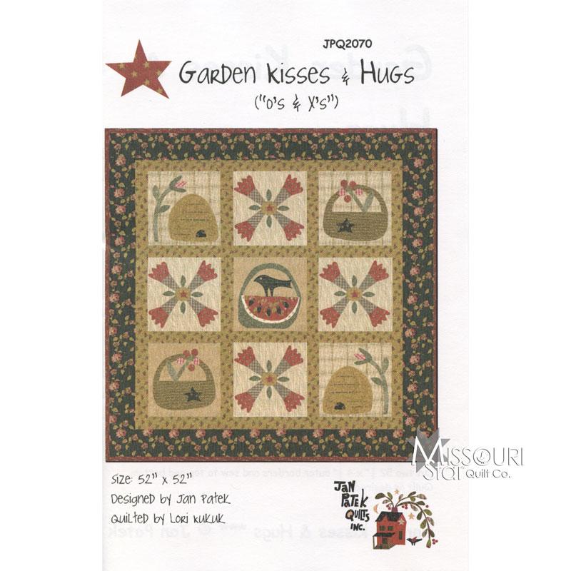 Garden Kisses & Hugs Quilt Pattern