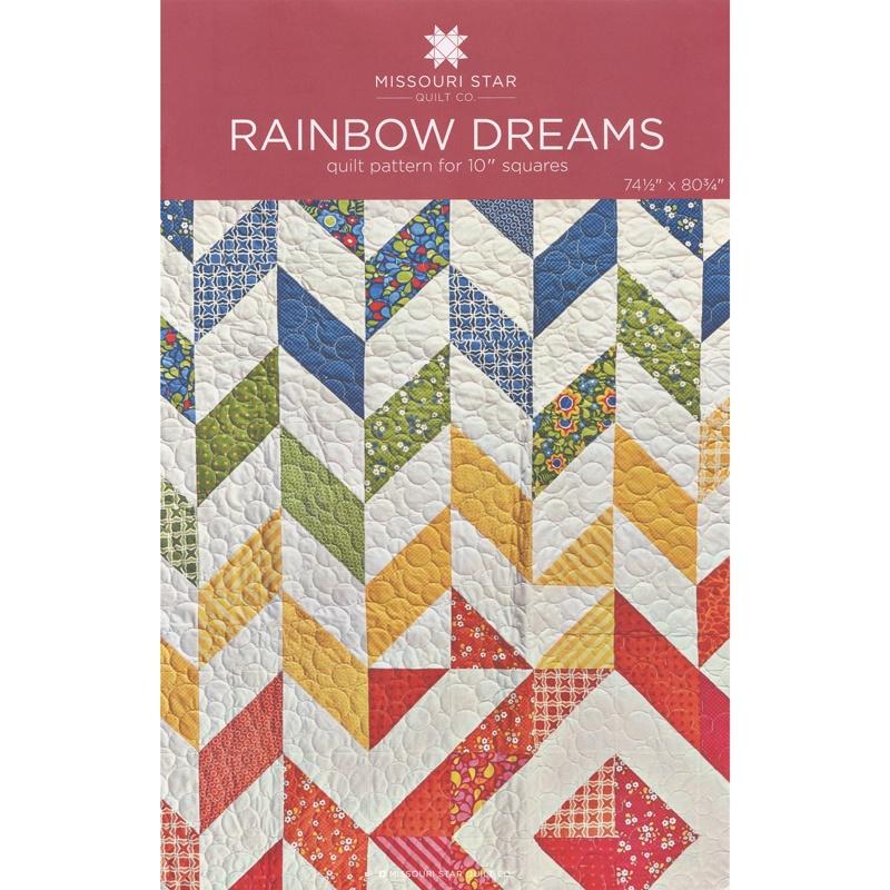 Rainbow Dreams Quilt Pattern by MSQC - MSQC - MSQC — Missouri Star ... : missouri quilt star - Adamdwight.com