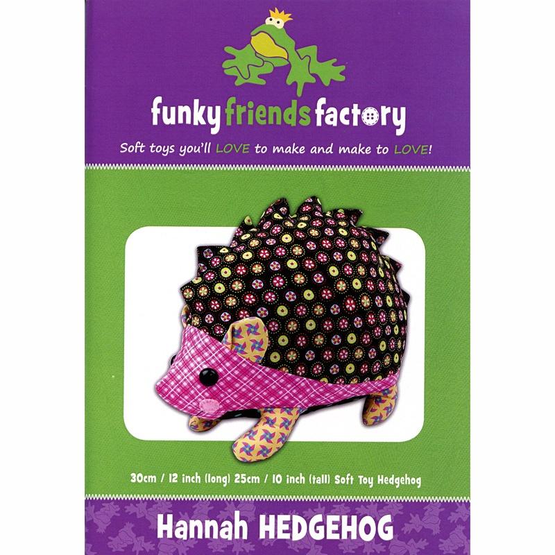 Hannah Hedgehog Funky Friends Factory Pattern