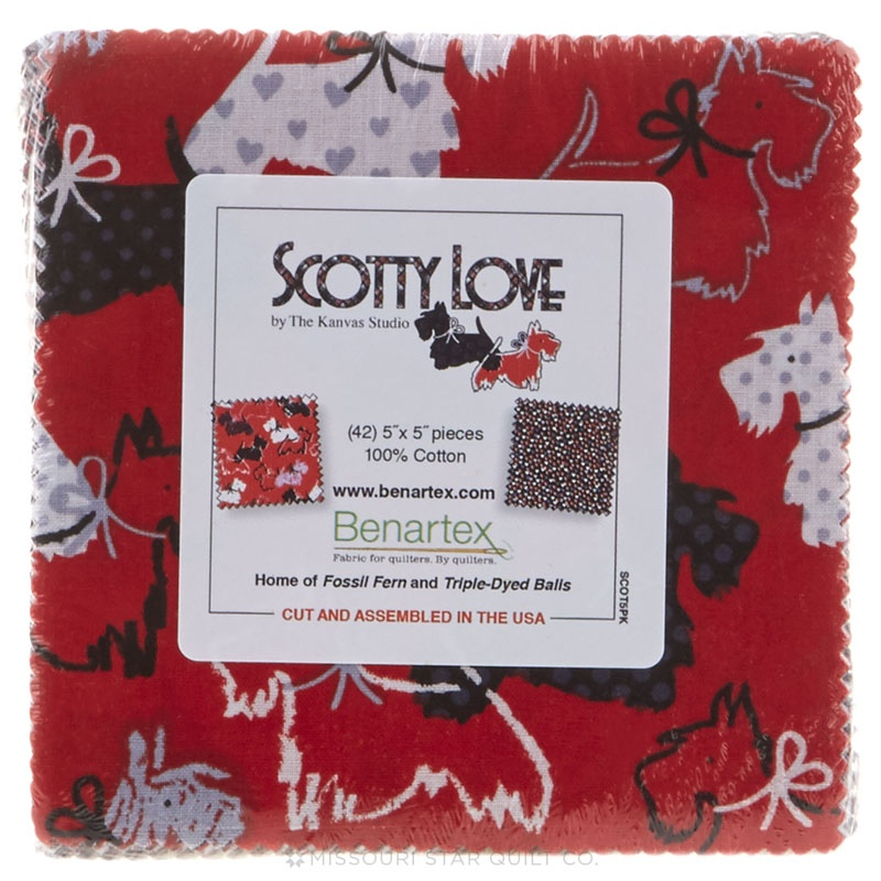 Scotty Love Charm Pack