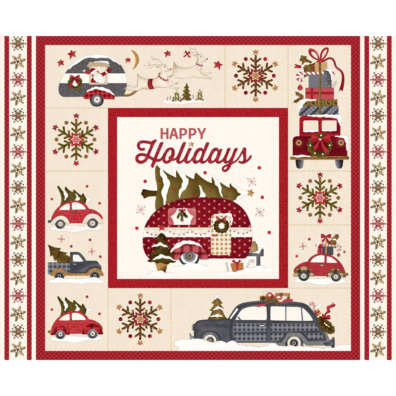 Buttermilk Winter - Holiday Panel