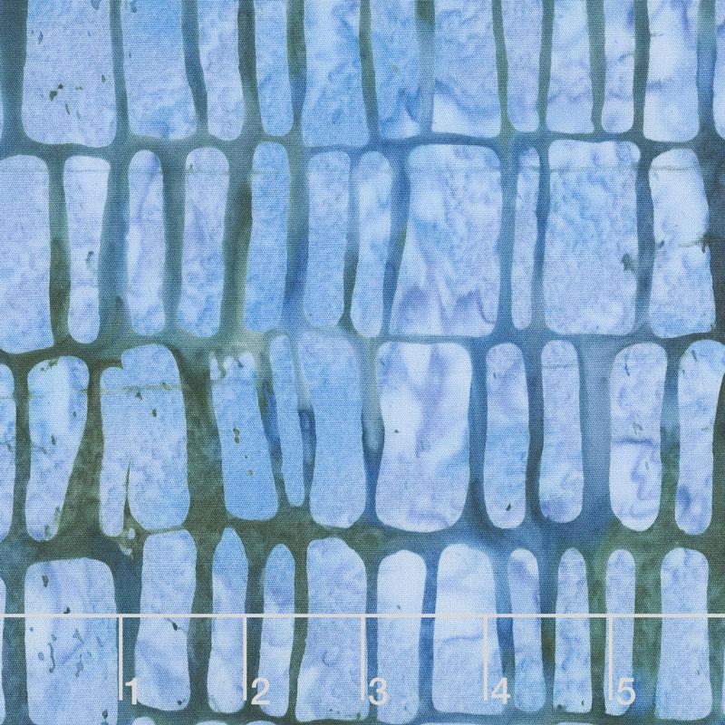 Soul Song Batiks - Rectangles Bermuda Yardage