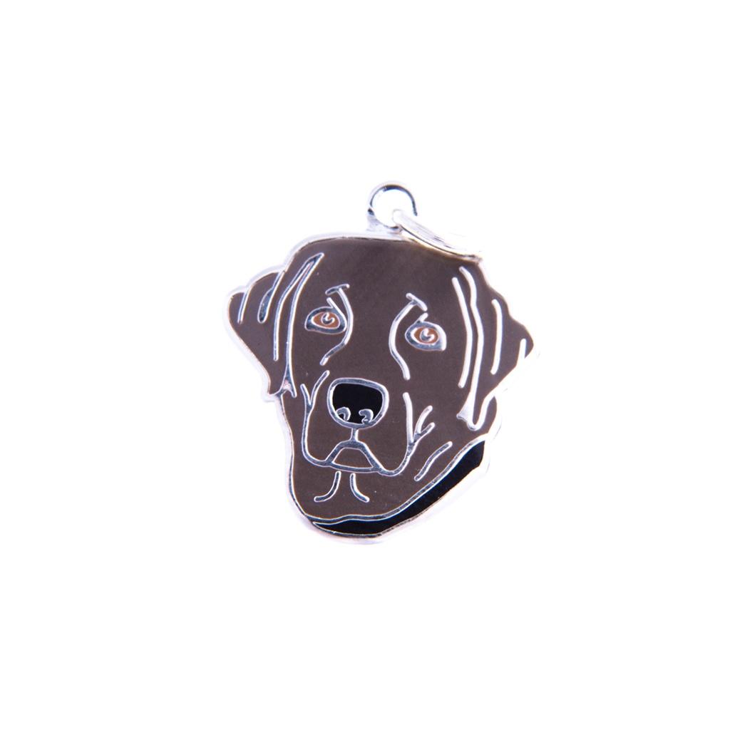 Labrador Retriever Charm - Chocolate