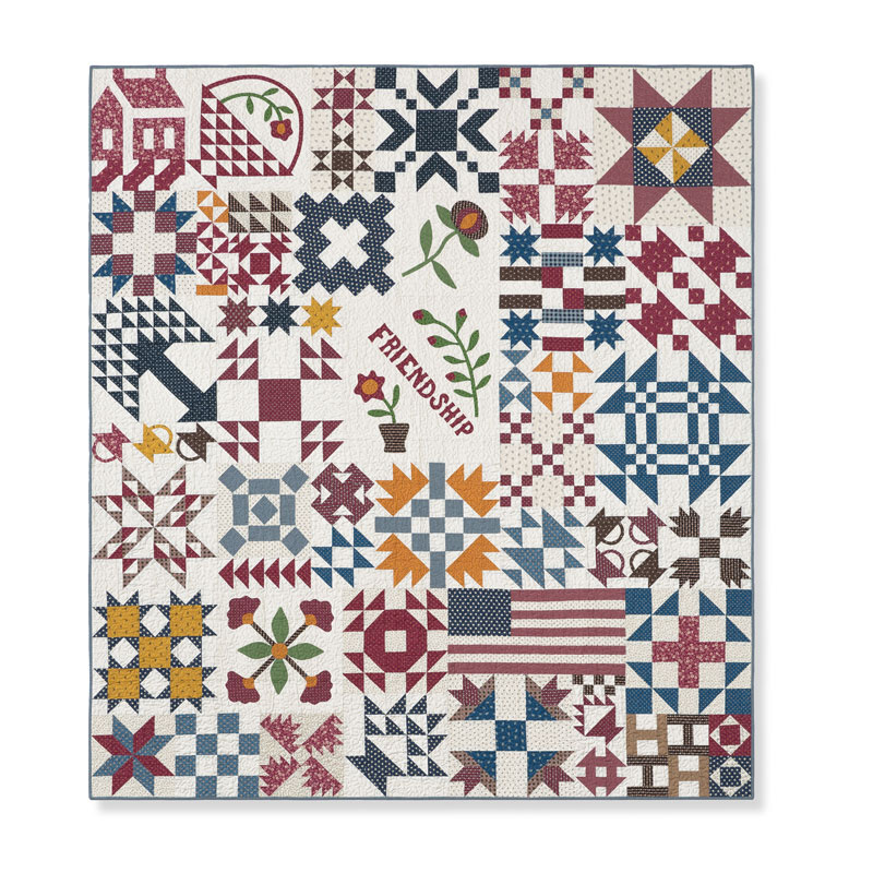 Temecula Album Quilt Block of the Month