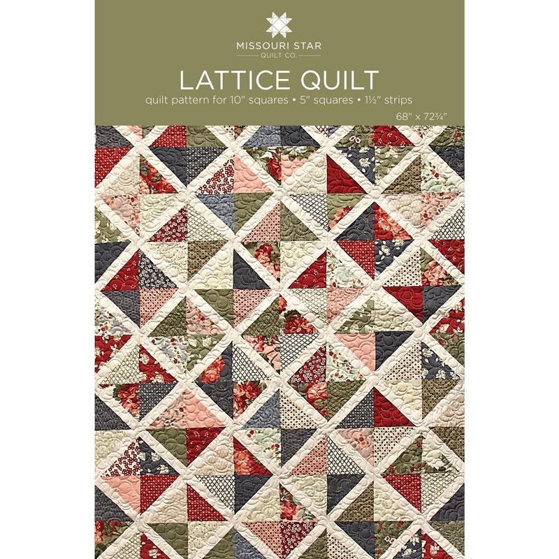Digital Download - Lattice Quilt Pattern by MSQC - MSQC - MSQC ... : missouri quilt company patterns - Adamdwight.com