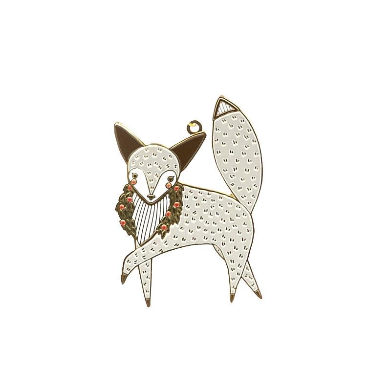 Merriment Fox Ornament