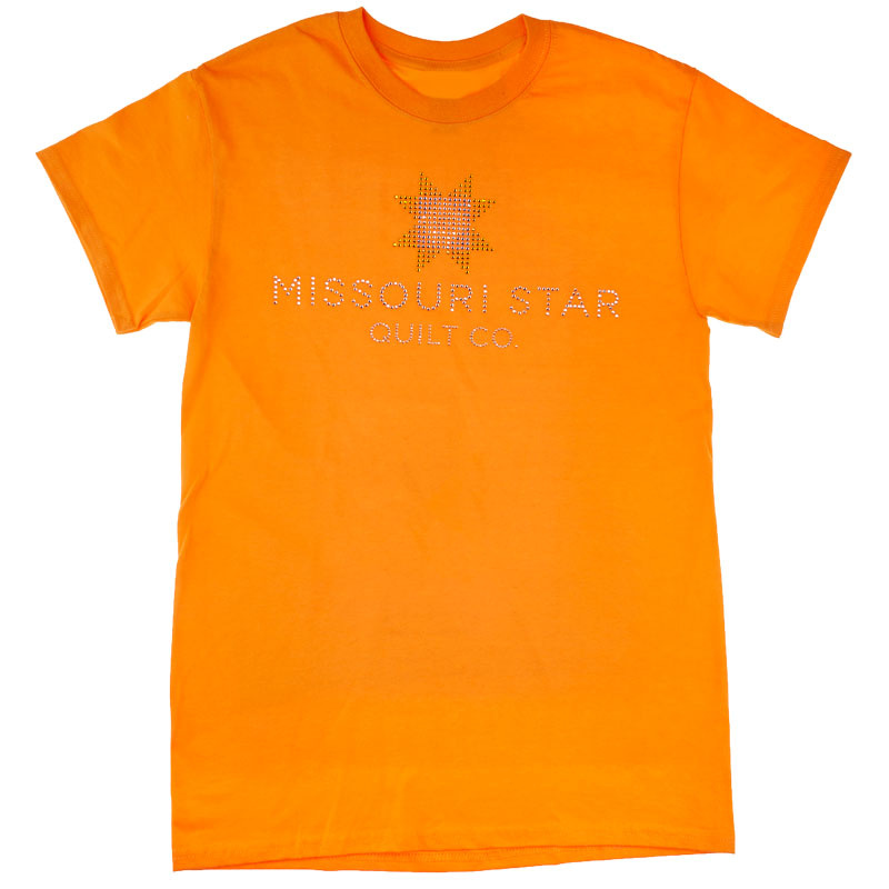 Missouri Star Bling Tangerine T Shirt Medium Missouri Star Qu