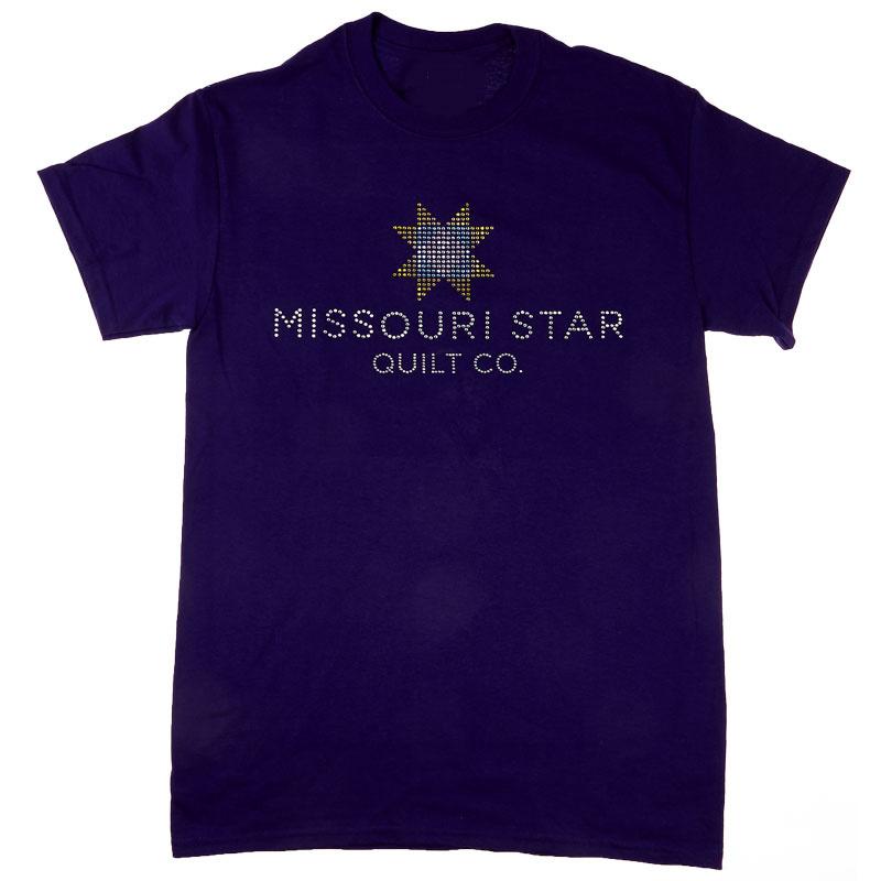 Missouri Star Bling Purple T-Shirt - 2XL