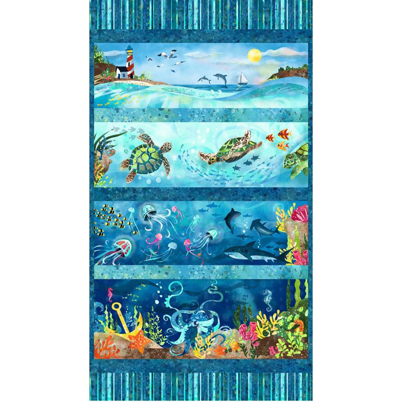 Ocean State - Blue Panel