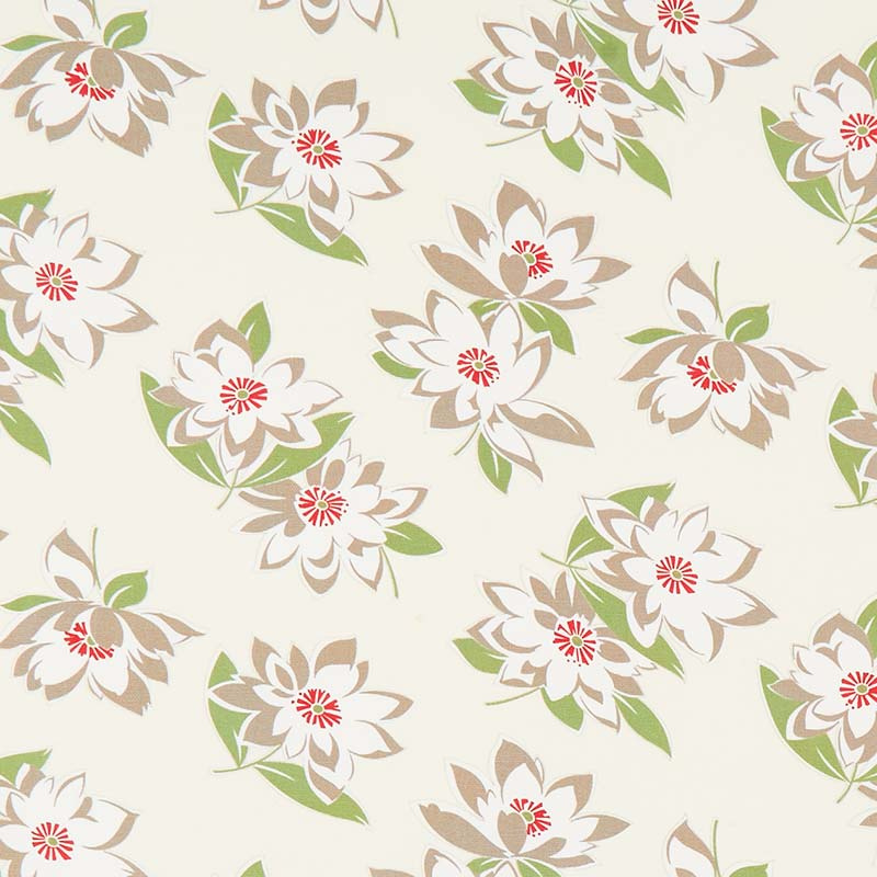 At Home with Bonnie and Camille - Sunday Stroll Cream Canvas Yardage