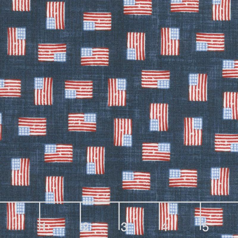 Patriotic Americana Missouri Star Quilt Co