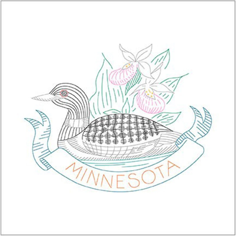 Birds of Liberty - Minnesota Digitally Printed Panel