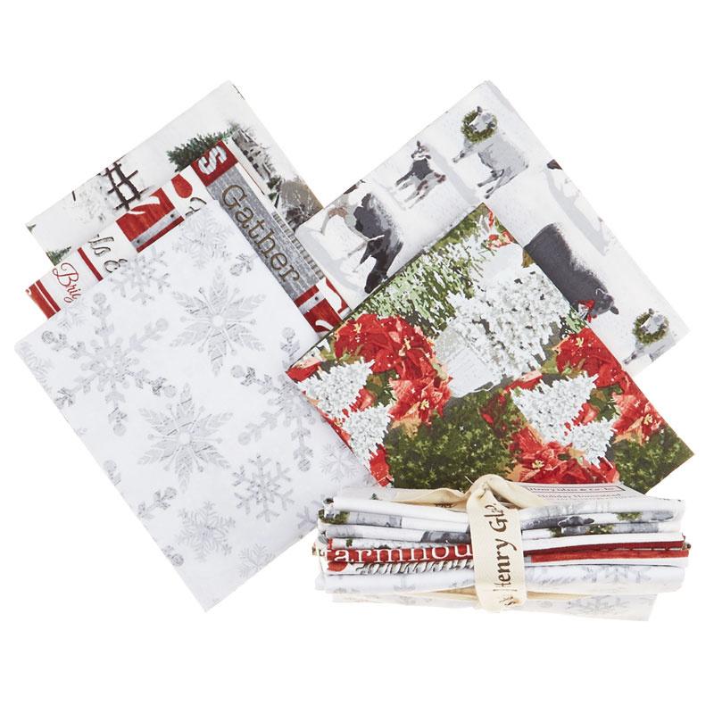 Holiday Homestead 5 Easy Pieces Fat Quarter Bundle