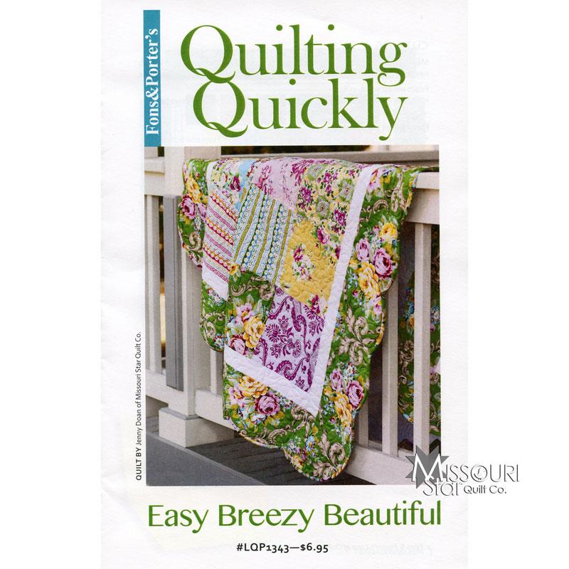 Easy Breezy Beautiful Pattern - Fons & Porter — Missouri Star ... : easy breezy quilt pattern - Adamdwight.com